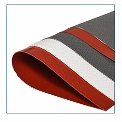 0.22mm thickness brown color heat resistance ptfe teflon coated fiberglass fabric stickers
