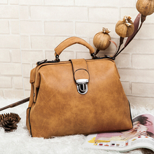 Bz1322 new arrival plaid shoulder handbags PU leather bags for women