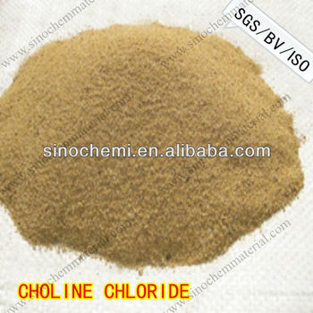 Premium Quality Lowest Price 60% choline chloride for poultry feed