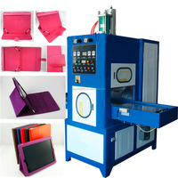 low price leather flip cover case making machine