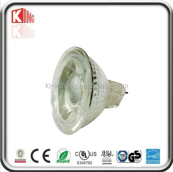 mr16 gu5.3 led lamp 12v cob led spot light 5W MR16 GU10 halogen 50w glass housing IP65 bathroom outdoor used Dimmable