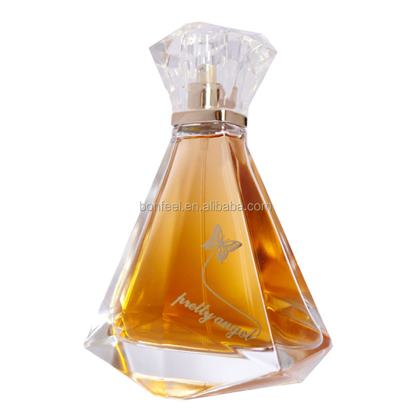 OEM brand perfume, 100ml glass bottle pretty / beauty angel love perfume