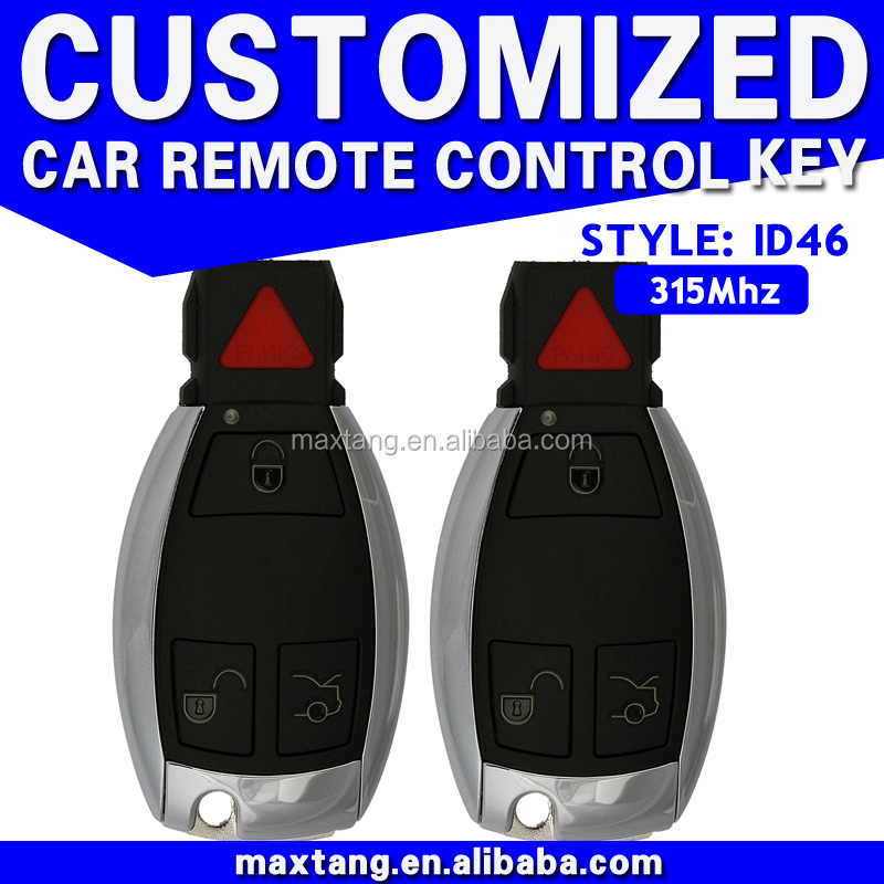 Wholesale Smart Universal Car Key Universal Car Master Remote Key 3+1 Button 315Mhz ID46 For Benz MTF-100303