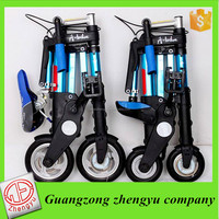 light weight electric mini foldable bike//steel frame 10''folding bike//portable electric bike