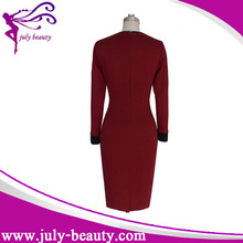 In-Stock Items Supply Type and Adult Age Group modern office ladies formal office wear dress