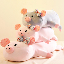 70cm Lying Kawaii Large Pig Pillow Cushion Sofa Cushio Plush Doll Baby Plush Toys Stuffed Animals Toys Birthday Gift