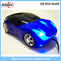 3D Wired Ferrari Car Shape Optical