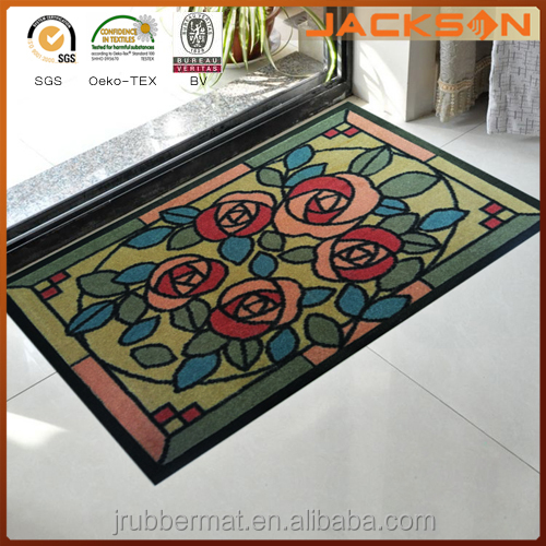 Jackson New Custom Advertising Logo Printed Carpet