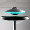 Newest levitating bluetooth speaker with led light for mic