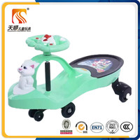 Children small toy cars tom cat baby twist car with music