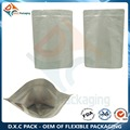 Aluminum Foil Plastic Snack Food &Coffee beans Stand Up Packaging Bags With Zipper and valve