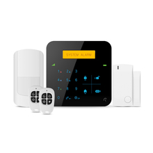 Smart Home wireless GSM/WIFI burglar alarm system Android/IOS APP control security wifi home alarm system