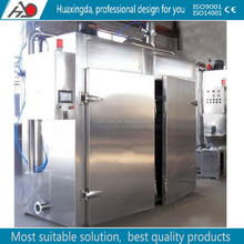 new design smoked fish machine/meat chicken sausage smokehouse machine