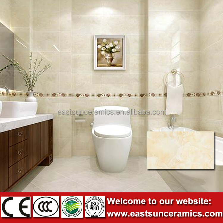 2016 new designs light yellow floewr 3d ceramic wall tiles for New wall tiles 2016