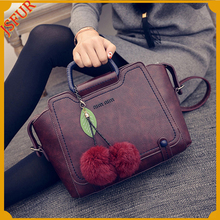 New fashion luxury real rabbit fur hand fashion bag accessory