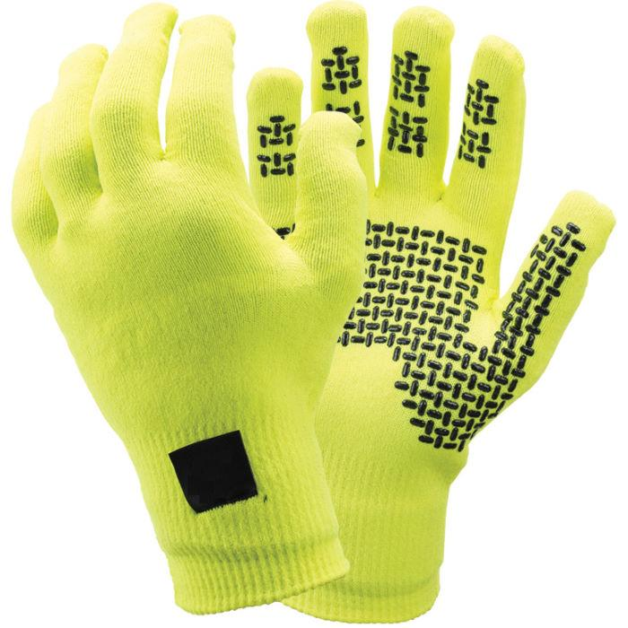 Cold Weather PVC Dotted Brushed Acrylic Liner Cheap Winter Warm Gloves
