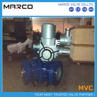 High performance manual operation or three way electronic actuator ball valve with precise torque figures