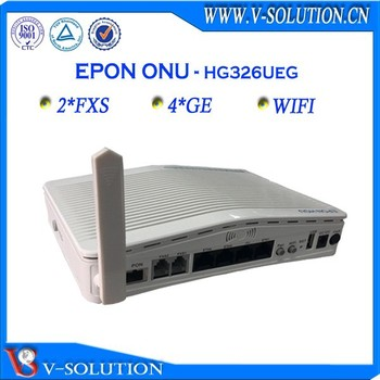 4ge+2pots 2T2 wifi onu epon gpon onu compatible with Huawei ZTE olt