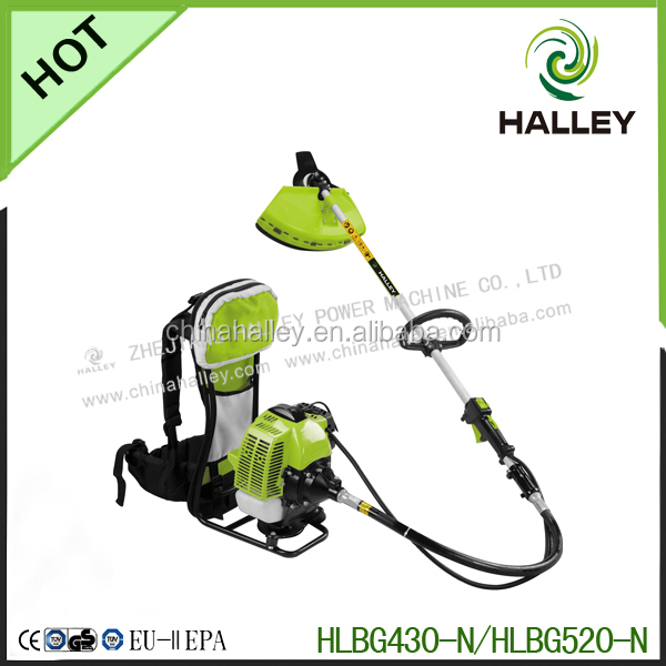 43cc gasoline brush cutter with frame carrier on sale in home and garden