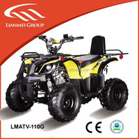 4 wheeler atv for adults/kids with 110cc displacement