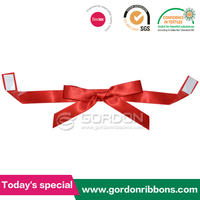 satin gift ribbon bow pre-made bow