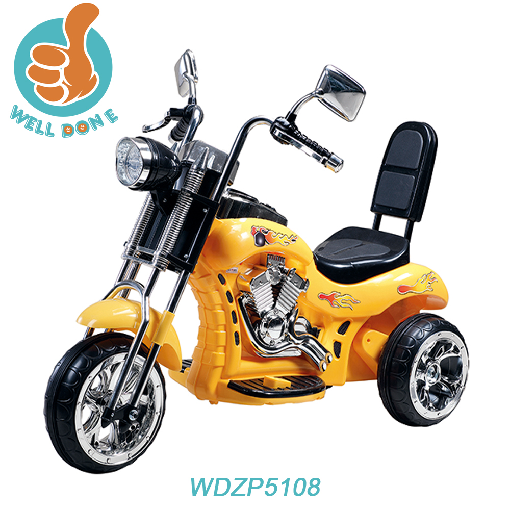 Racing motorcycle sticker design for kids , very cool ride on toy with music WDZP5108