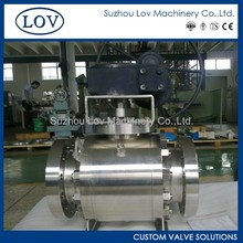 Stainless Steel Trunnion Mounted Ball Valve