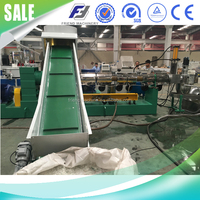 plastic pe film water-ring recycling pelletizing line