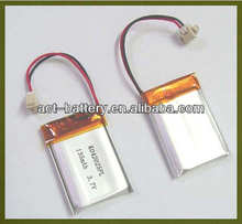 3.7V 135mAh 042025 Rechargeable Lithium ion Polymer Bluetooth Headset Battery, MP3 Player Battery, MP4 Play Battery