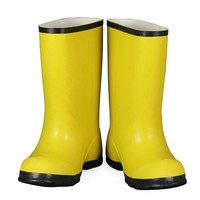American rubber overshoes/waterproof yellow rubber overshoes