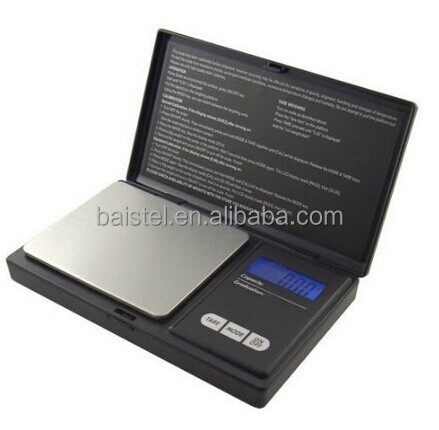 Jewelry Scale Digital Pocket Scale With LCD Bluebacklight