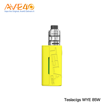 Chinese Supplier Teslacigs WYE 85W Box Mod Kit with H8 Mini Tank