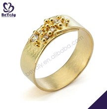 hot sale silver jewelry fashion exquisite 1 gram gold ring for men
