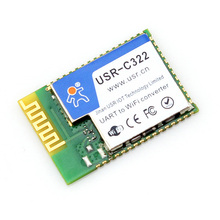 USR-C322 SMT Serial UART to Wifi 802.11 b g n Module with TI CC3200 Chip Support AP STA Working Mode