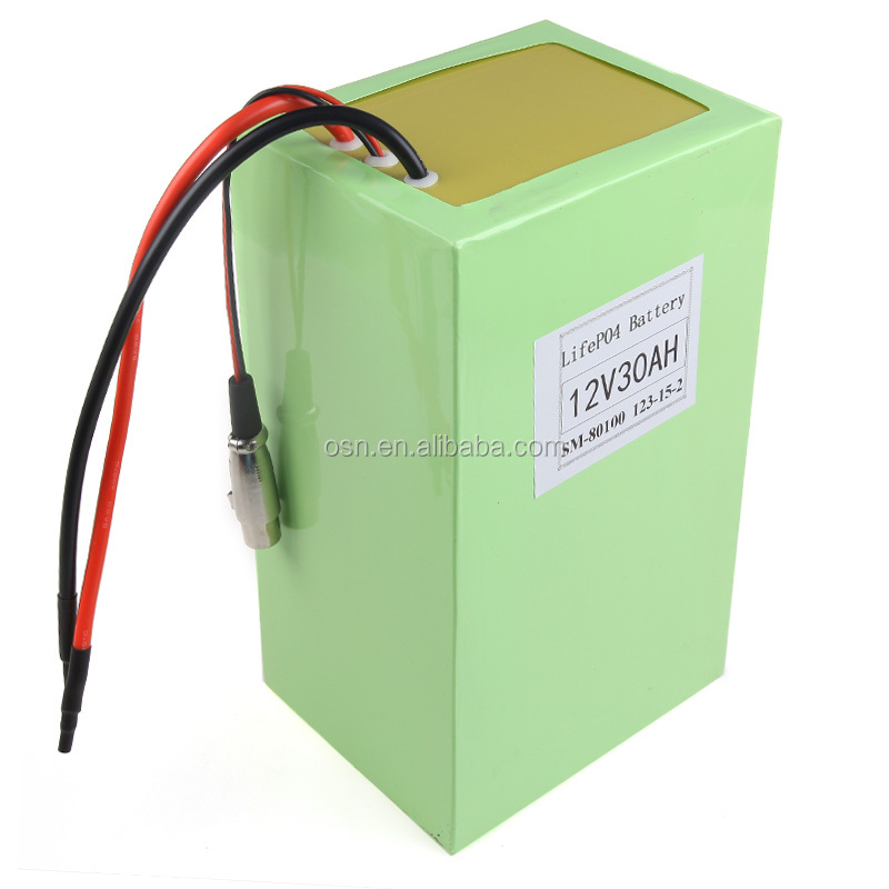 A123 Rechargeable LiFePO4 Battery Pack 12V 30Ah