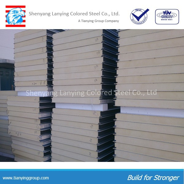 competitive price polyurethane sandwich wall panel