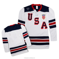 10%off adult usa ice hockey jerseys puck or uniform of hockey wear