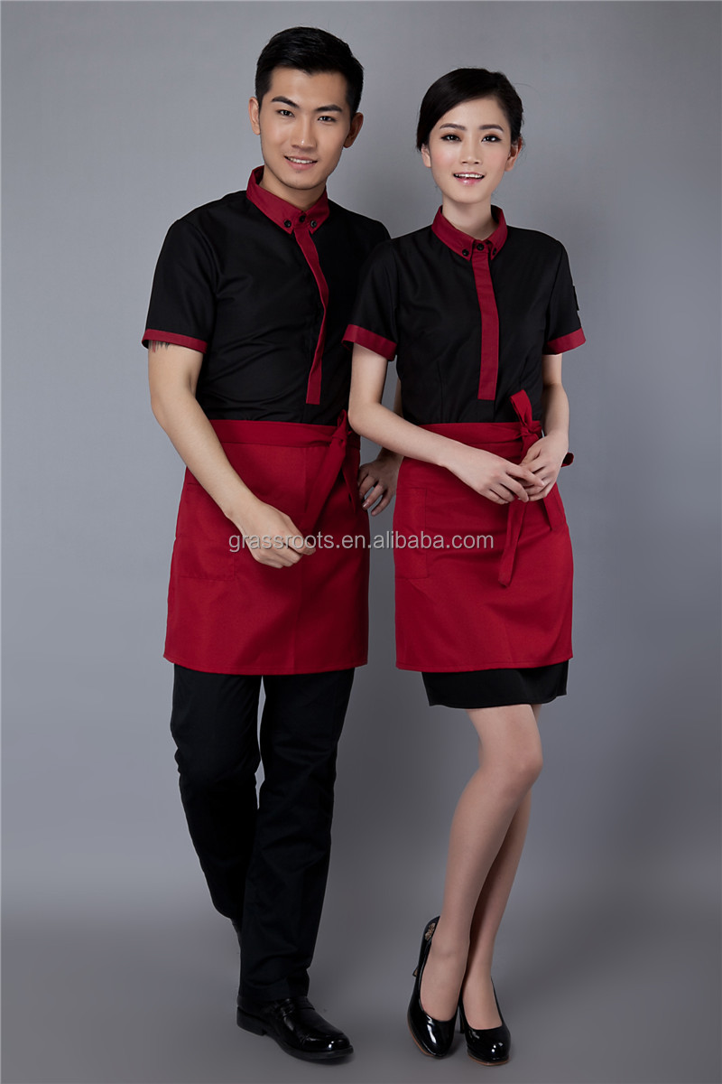 2014 new style elegant chinese restaurant waitress uniform