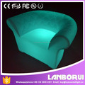 Club Hotel Color Changing LED Bar Illuminated Sofa Chair