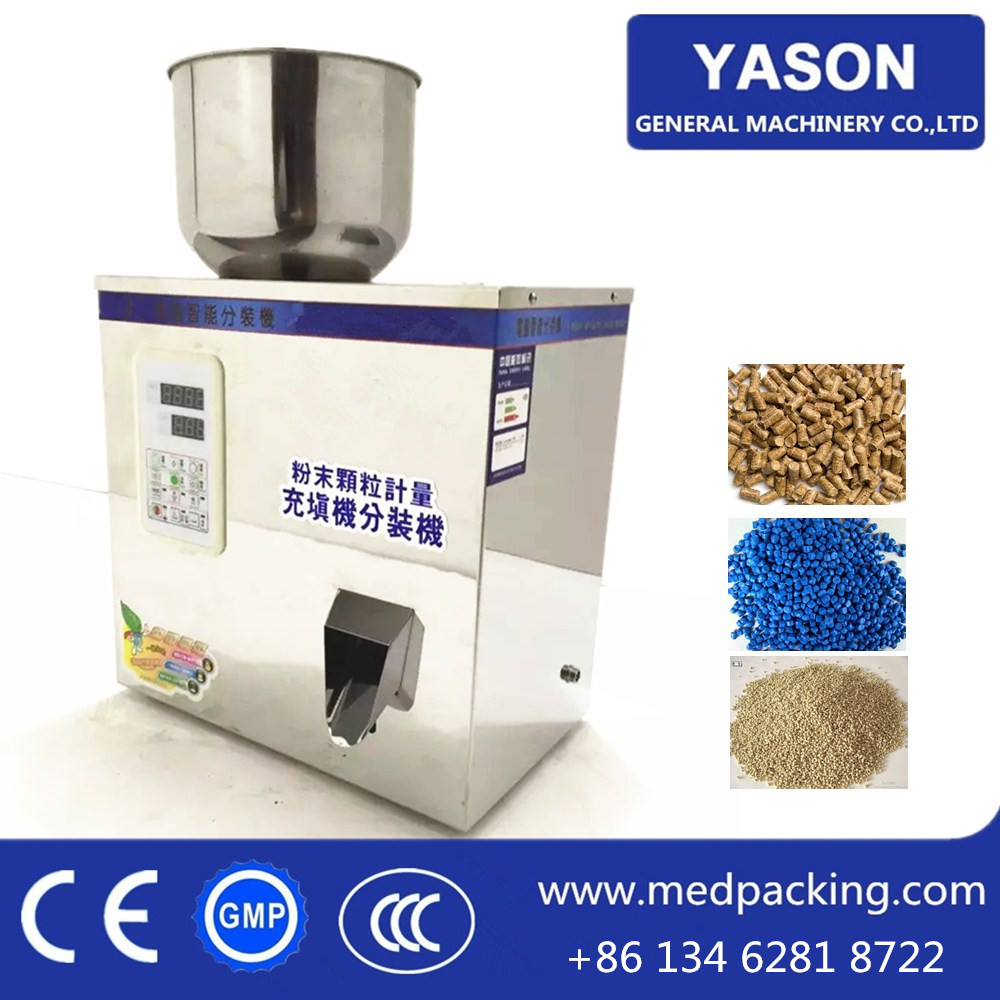<strong>W100</strong> 2-100g High Accuracy Albumen powder Grain Powder Weighing and Filling Machine