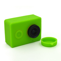 Low Cost yi camera Silicone Housing Silicone Case for Xiaomi Yi Camera protective case