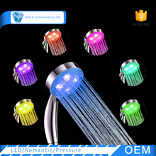 Bathroom Water Pressure Handheld 7 Color Gradual Changing LED Shower Head