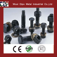 Hex bolt with nut washer, hexagon bolt