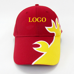 Custom baseball cap applique embroidery metal back closure wholesale promotion Advertising baseball cap hats