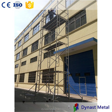 Q235B Electric Plate anti-corrosion building and construction industries layher USA open frame scaffolding