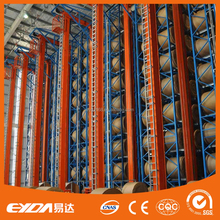 direct factory OEM automatic storage retrievel system cold rolled Q235 steel rack warehouse