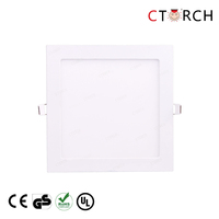 CTORCH High quality square LED Panel Light 15W RoHS Compliant