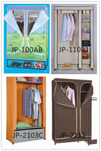 JP-88A Modern Portable Folding Fabric Canvas Clothes Closet Closet Organizers