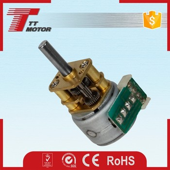 GM12-15BY 5V micro stepper motor with gearbox