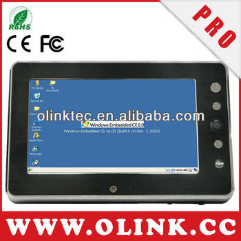 Olink M788: In-Vehicle mobile data terminal with WinCE 6.0 OS, 5-wire touch panel, Day&Night Camera, WiFi, GPS, high temperature